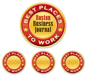 Boston Business Journal Best places to work